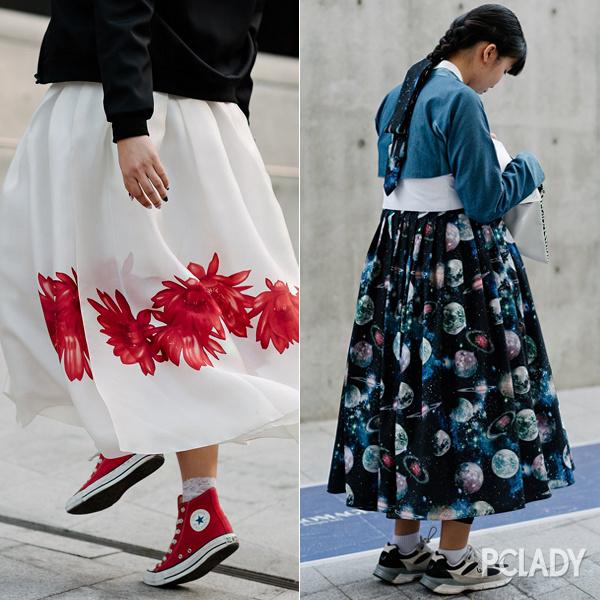 民族风半裙搭配图片