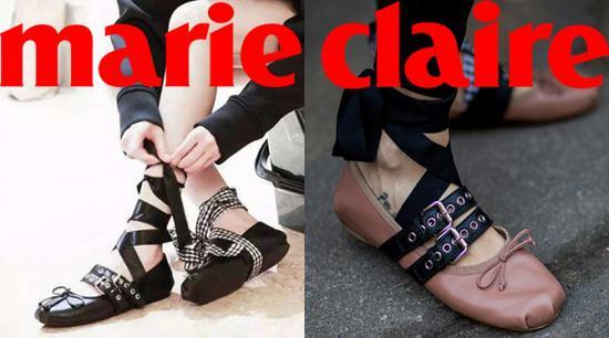 怎样把绑带芭蕾舞鞋穿得又高又瘦又有气质! 服饰潮流 图1