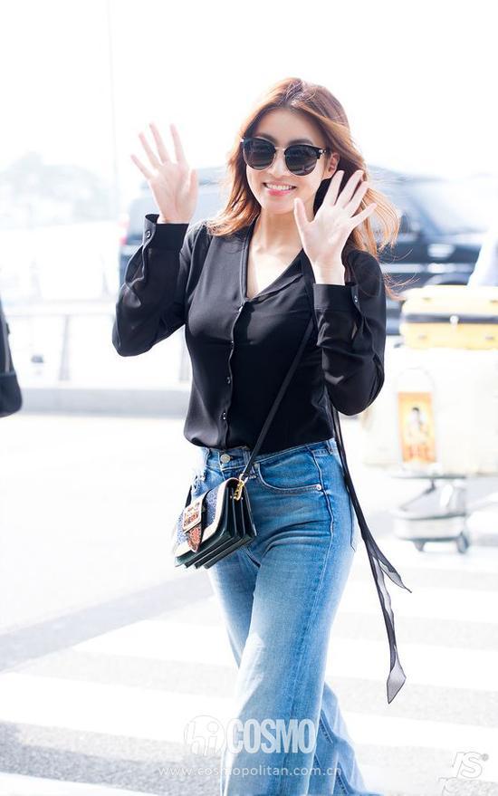看超模Gigi如何将牛仔裤穿出通勤范儿