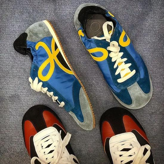 老球鞋真香 时尚圈的时髦人儿都不爱穿新鞋了