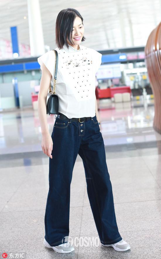阔腿裤来自Shiatzy Chen