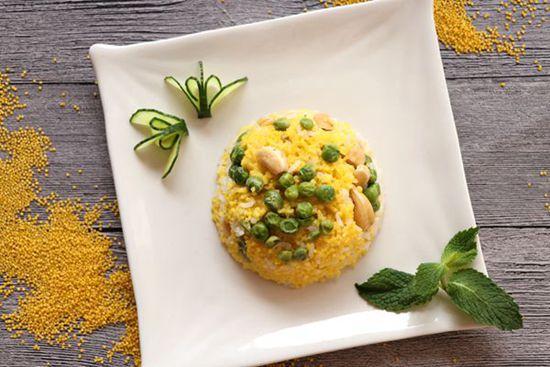 黄小米养生饭