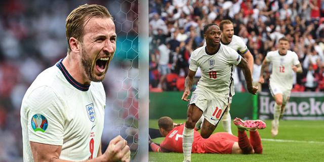 英格蘭2-0淘汰德國 斯特林凱恩破門