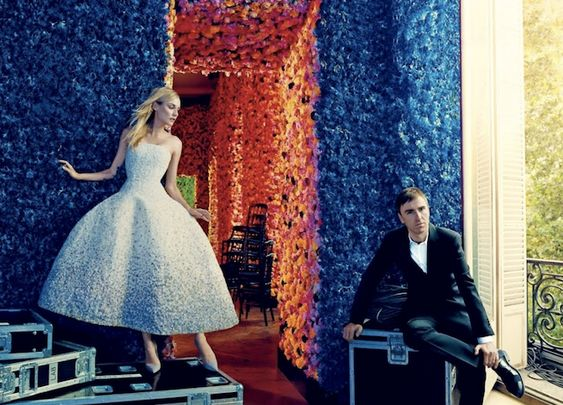 Raf  Simons任职Dior