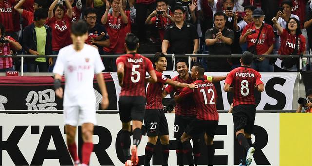 亚冠-上港总分3-3浦和遗憾出局