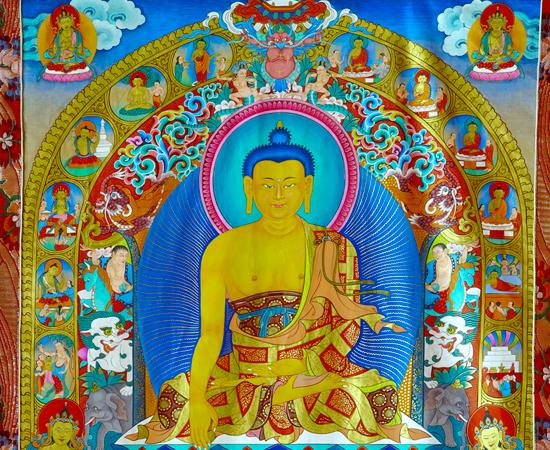详解藏传佛教唐卡的密意