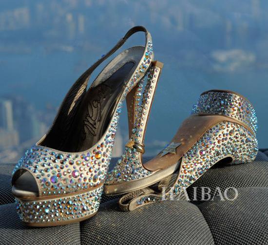 婚鞋来自Salvatore Ferragmo