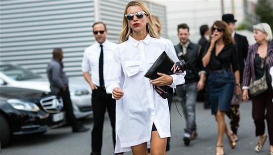 稍有不慎就沦为路人甲的衬衫裙 要怎么穿才好看