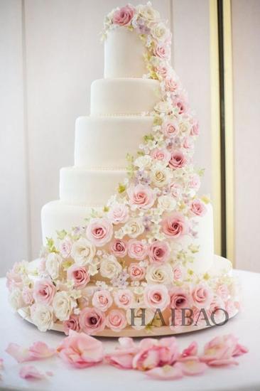 白色玫瑰蛋糕