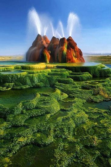 内华达州 飞喷泉