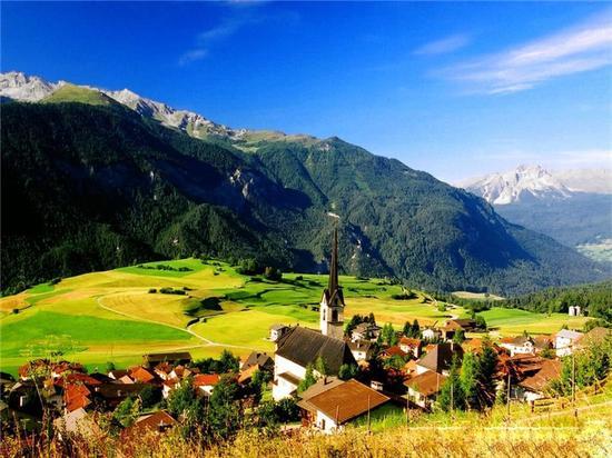 瑞士因特拉肯