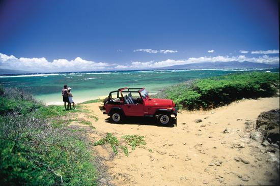 夏威夷群岛最原始的自然风貌