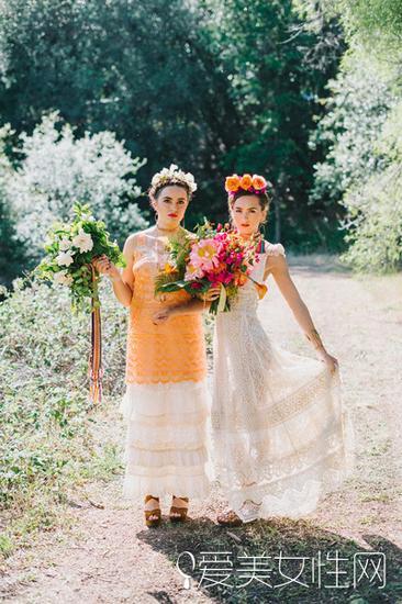 宾客和新娘