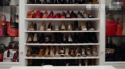 米兰达可儿的鞋柜