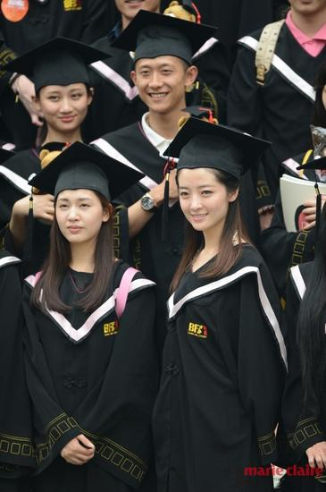 张一山毕业照