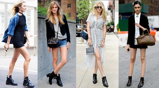 短靴style