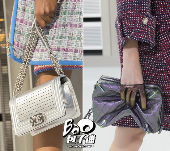 Chanel金属风包包