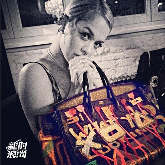 Rita Ora的Birkin包