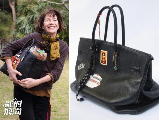 Jane Birkin和她的Birkin包