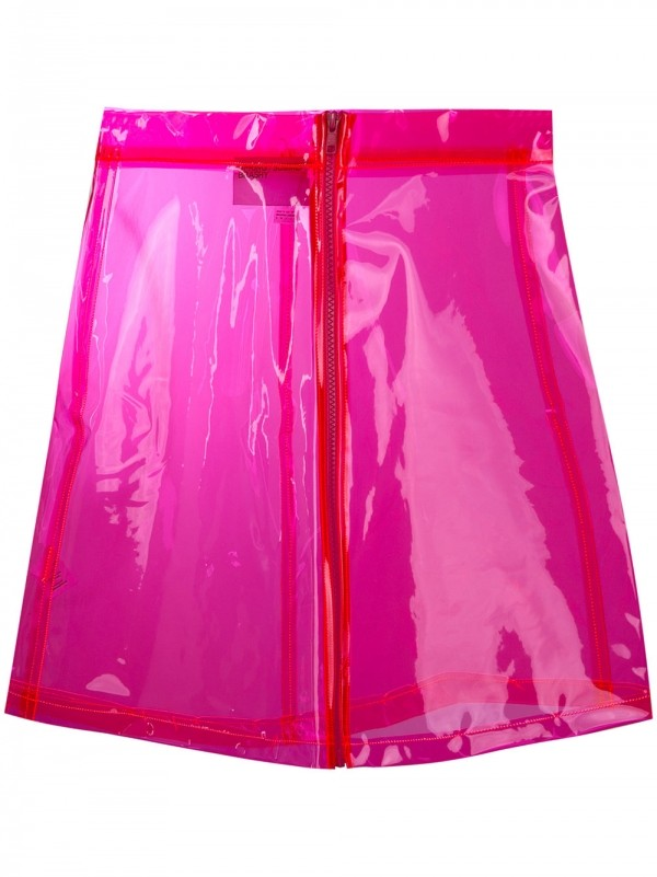 BRASHY 透明亮面半身裙 ¥1,499