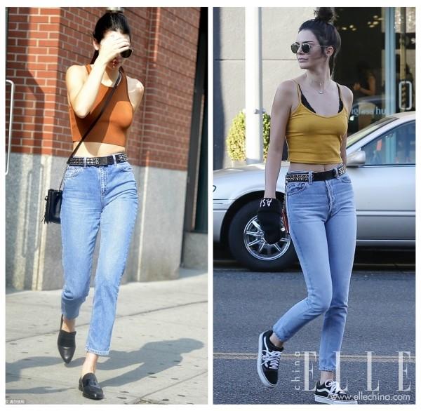 Kendall亮相街头jpg