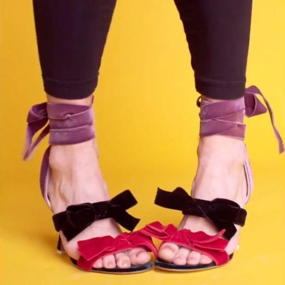 Attico的绑带鞋