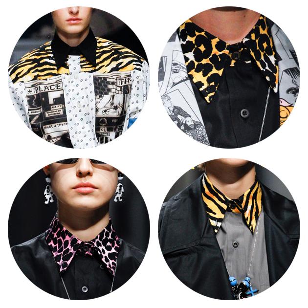 这季时装周上的豹纹元素