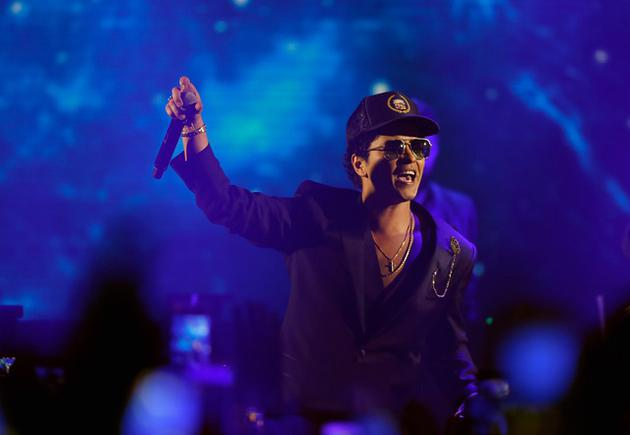 Bruno Mars现场