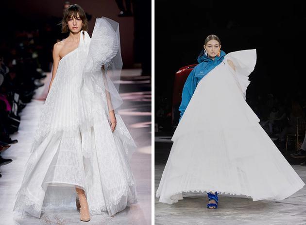 左图:Givenchy  右图:Off-White