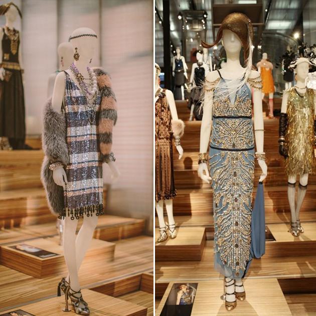 Prada举办的《了不起的盖茨比》服饰展