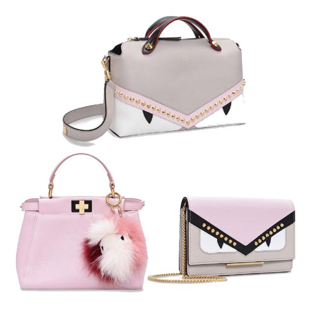 Fendi情人节粉色系包包