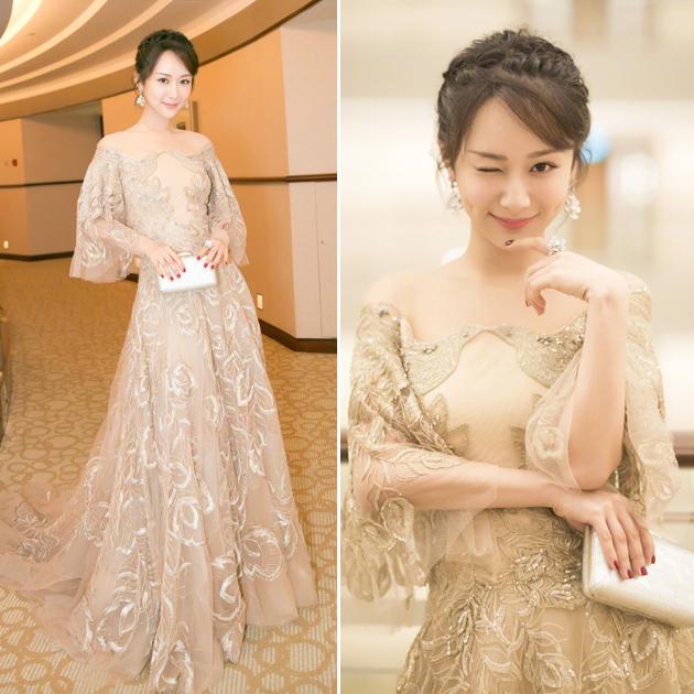 杨紫穿仙女裙