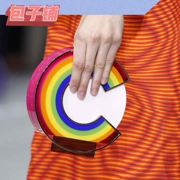 Mary Katrantzou彩虹包