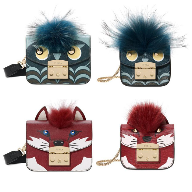 Furla动物图案包包
