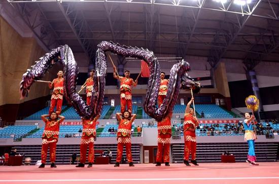 浙江第八届龙狮锦标赛将在奉化举行