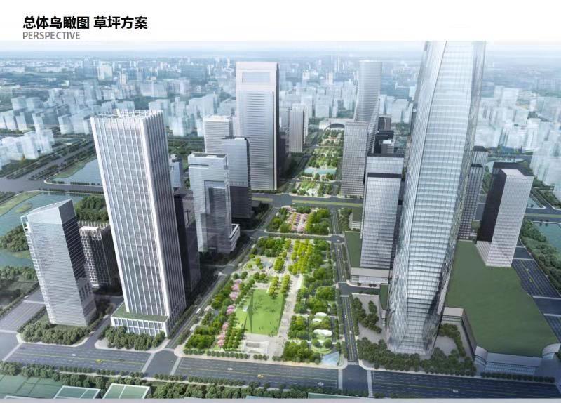 东部新城再添1座中央公园 投资超20亿预计2021年完工