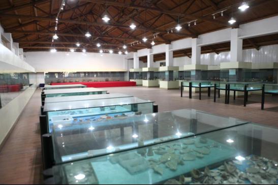 图为旧厂房改造利用——博物馆。