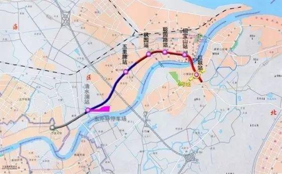 宁波地铁2号线二期取得新进展 将分两段不同步开通