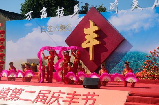 甜过初恋的沥阳红 宁海县力洋镇第二届庆丰节