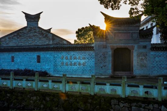 图为葛洪纪念馆。