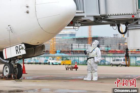 杭州—雅加达航线启航。杭州机场供图