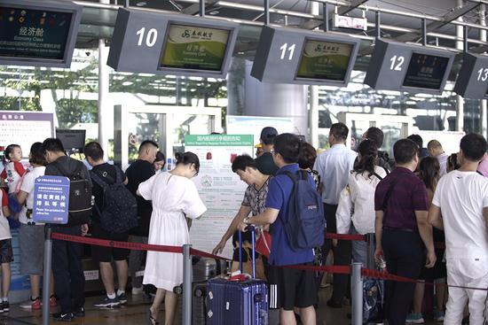 今起宁波机场将迎出入境高峰 坐飞机最好提前2小时到