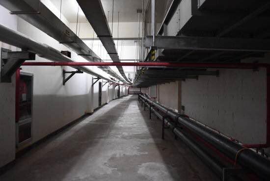 宁波南部商务区的地下空间。王刚摄