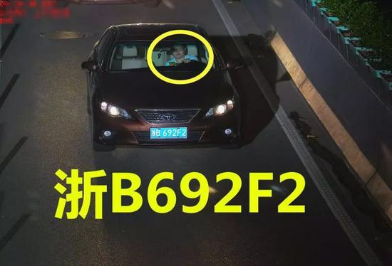 违法车辆:浙B692F2