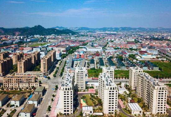 图为马渚东部新区。