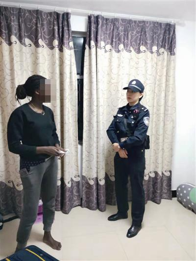 朱警官来到玛丽的新家 通讯员 供图