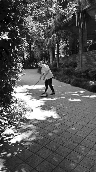 世纪城小区物业实施动态保洁。