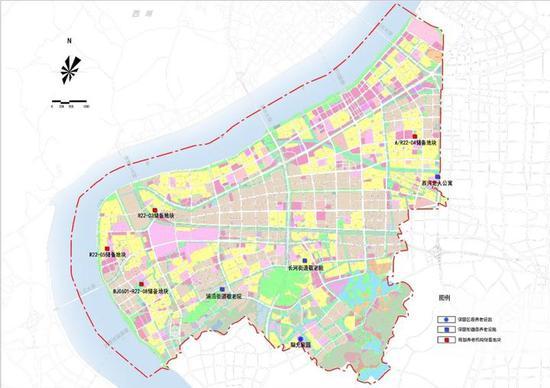 滨江养老设施规划图