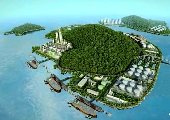 47、穿鼻岛LNG(液化天然气)接收站项目