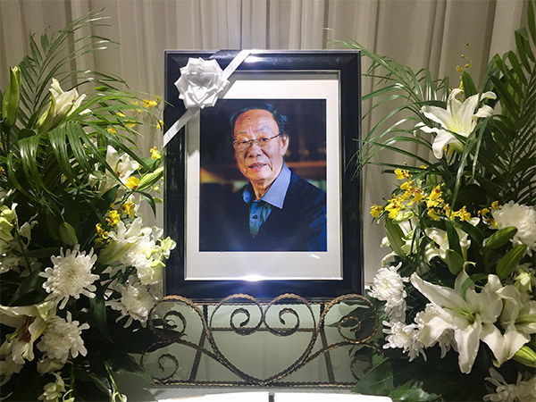 今天下午2点,宁波工艺美术界泰斗曹厚德先生追悼会将举行。